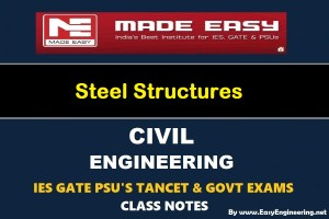 EasyEngineering Team Steel Structures GATE IES TANCET & GOVT Exams Handwritten Classroom Notes Free Download