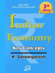 Indian Economy Key Concepts By K Sankarganesh