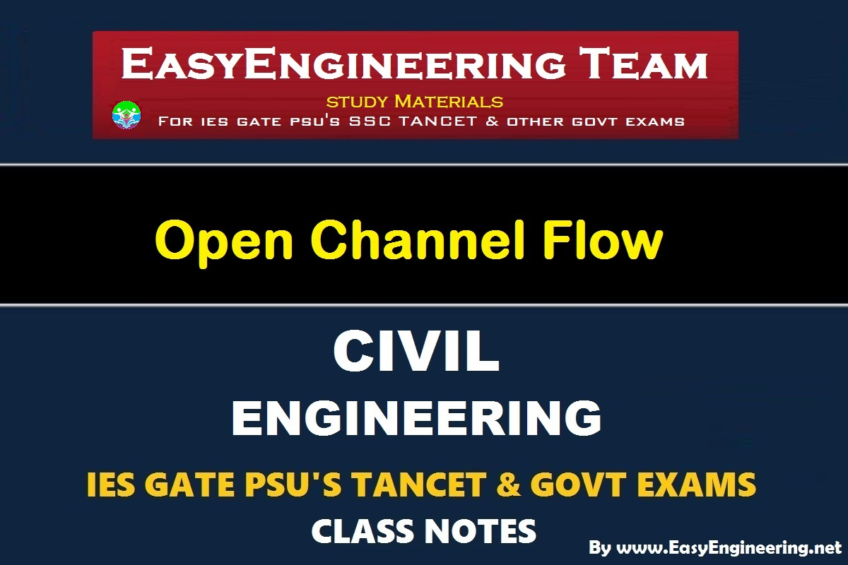 EasyEngineering Team Open Channel Flow