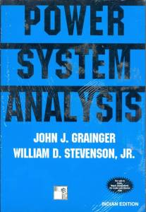 Power Systems Analysis By John Grainger, William Stevenson Jr.