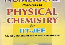 Numerical Problems in Physical Chemistry By P. Bahadur