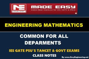 EasyEngineering Team Engineering Mathematics Notes