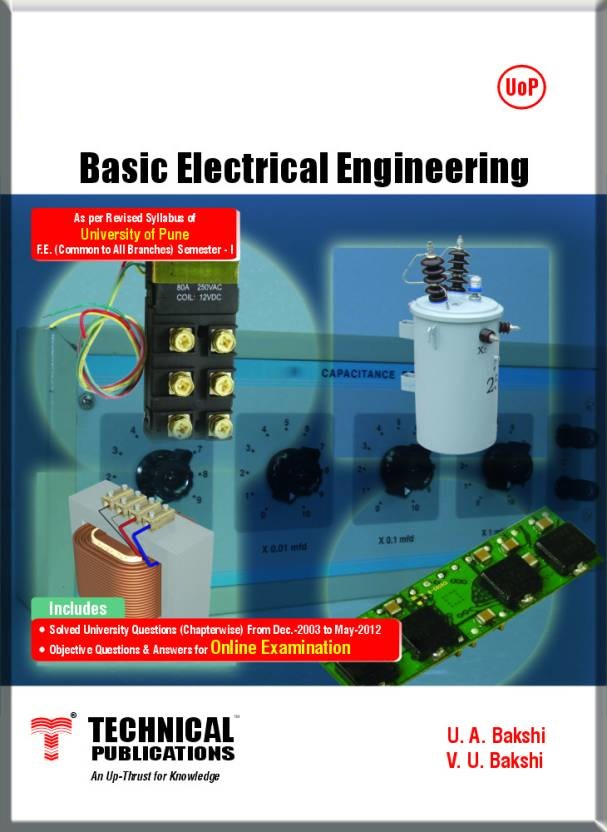 Basic Electrical Engineering By U.A. Bakshi, V.U. Bakshi