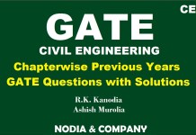 Civil Engineering GATE Exam Previous Years Solved MCQ By R.K. Kanodia