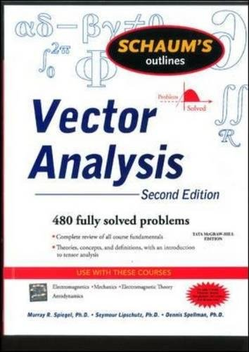 Schaum's Outline of Vector Analysis By Murray R Spiegel, Seymour Lipschutz