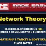 NETWORK THEORY Handwritten Made Easy IES GATE PSU's TNPSC TRB TANCET SSC JE AE AEE & GOVT EXAMS Study Materials
