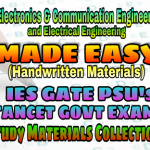 Handwritten Made Easy IES GATE PSU's TNPSC TRB TANCET SSC JE AE AEE & GOVT EXAMS Study Materials