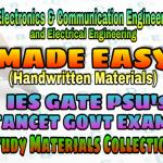Handwritten EasyEngineering Team IES GATE PSU's TNPSC TRB TANCET SSC JE AE AEE& GOVT EXAMS Study Materials