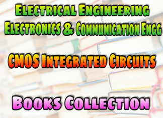 CMOS Integrated Circuits Books