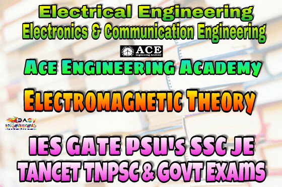 ANALOG CIRCUITS ACE Engineering Academy IES GATE PSU's TNPSC TANCET & GOVT EXAMS Study Materials