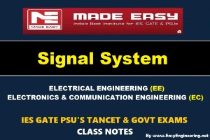 SIGNAL SYSTEM Handwritten Made Easy IES GATE PSU's TNPSC TRB TANCET SSC JE AE AEE & GOVT EXAMS Study Materials