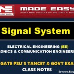 SIGNAL SYSTEM Handwritten EasyEngineering Team IES GATE PSU's TNPSC TRB TANCET SSC JE AE AEE & GOVT EXAMS Study Materials