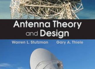 Antenna Theory and Design By Warren L. Stutzman,‎ Gary A. Thiele