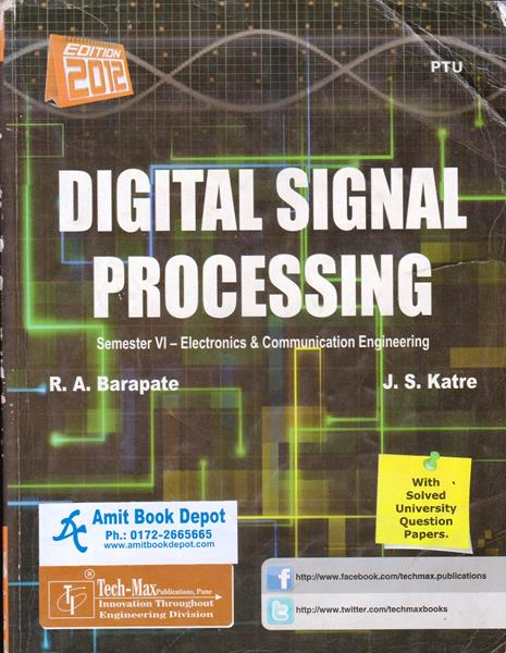 Digital Signal Processing By R.A.Barapate, J.S.Katre