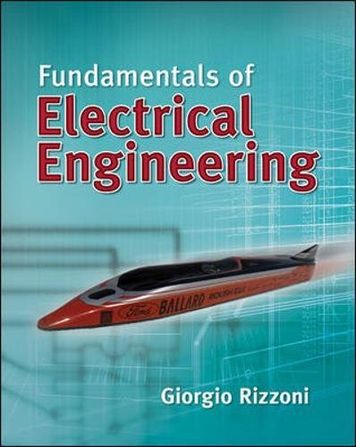 Fundamentals of Electrical Engineering By Giorgio Rizzoni