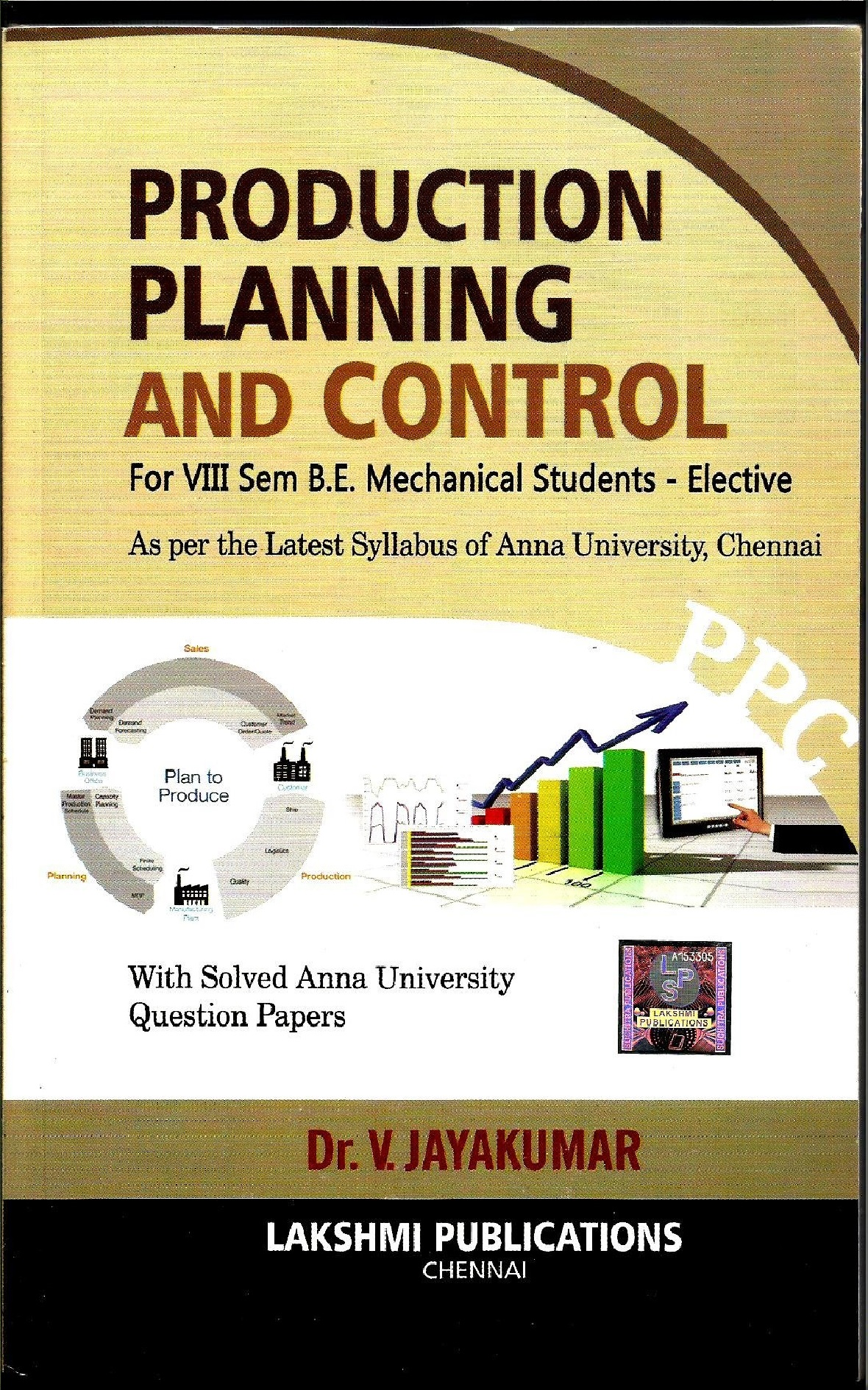 Production Planning and Control By Dr. V. Jayakumar