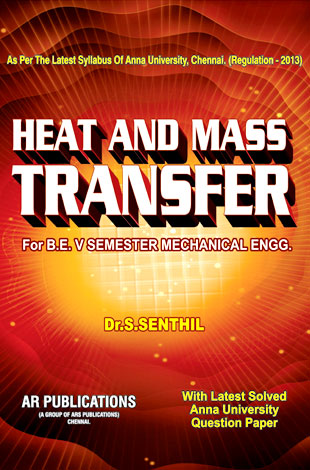 Heat And Mass Transfer By Dr.S. Senthil