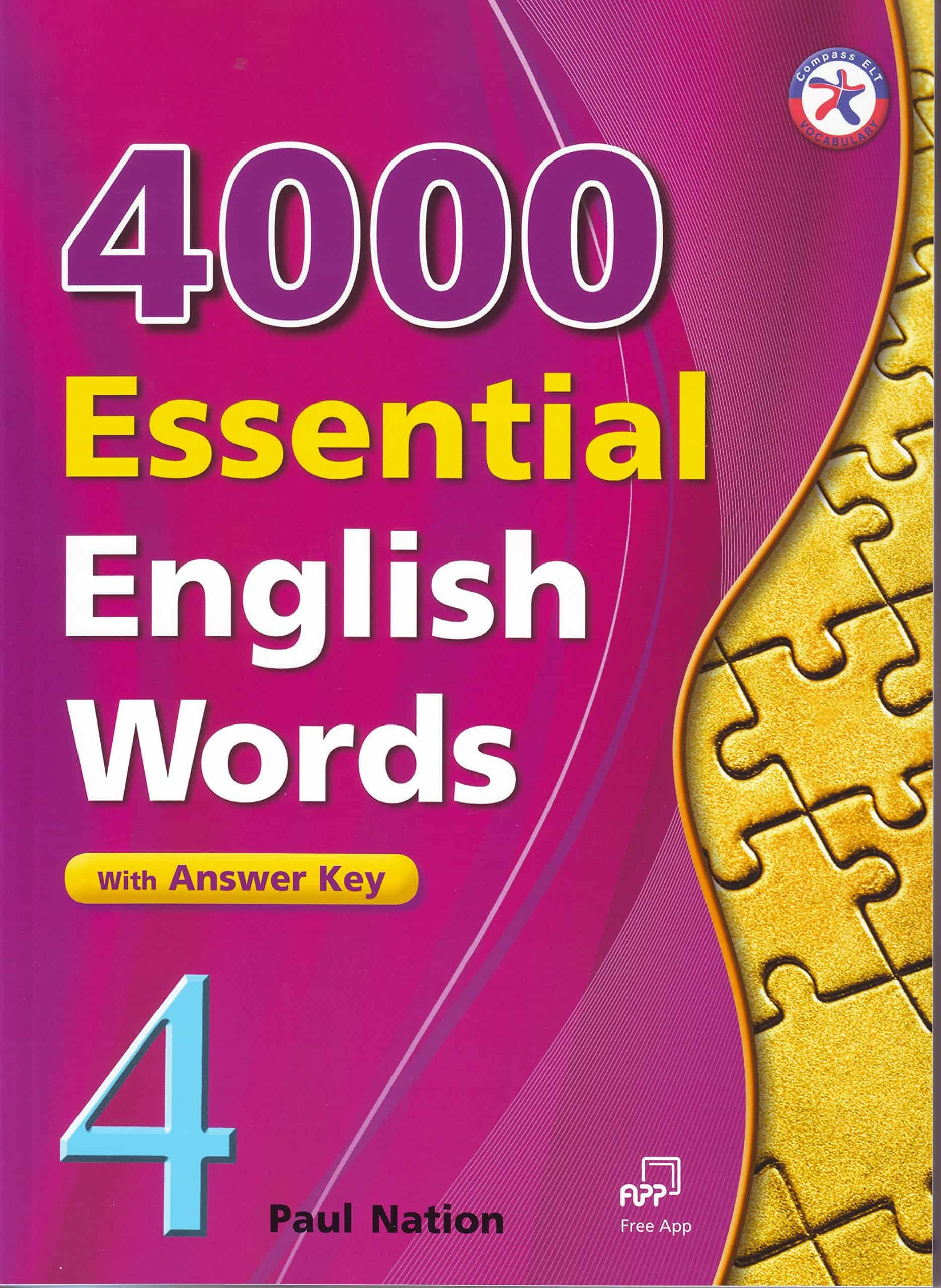 PDF] 4000 Essential English Words, Book 4 with Answer Key By