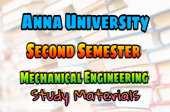 PDF] Anna University Mechanical Engineering Second Semester