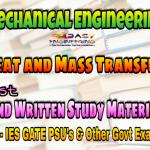 Heat and Mass Transfer Handwritten Study Materials for IES GATE PSU's TNPSC & Other GOVT Exams