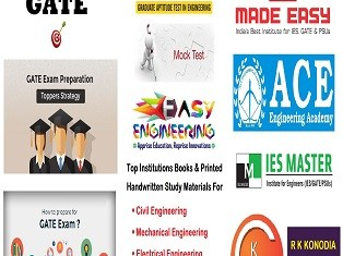 GATE Exams Study Materials For Civil Chemical Mechanical