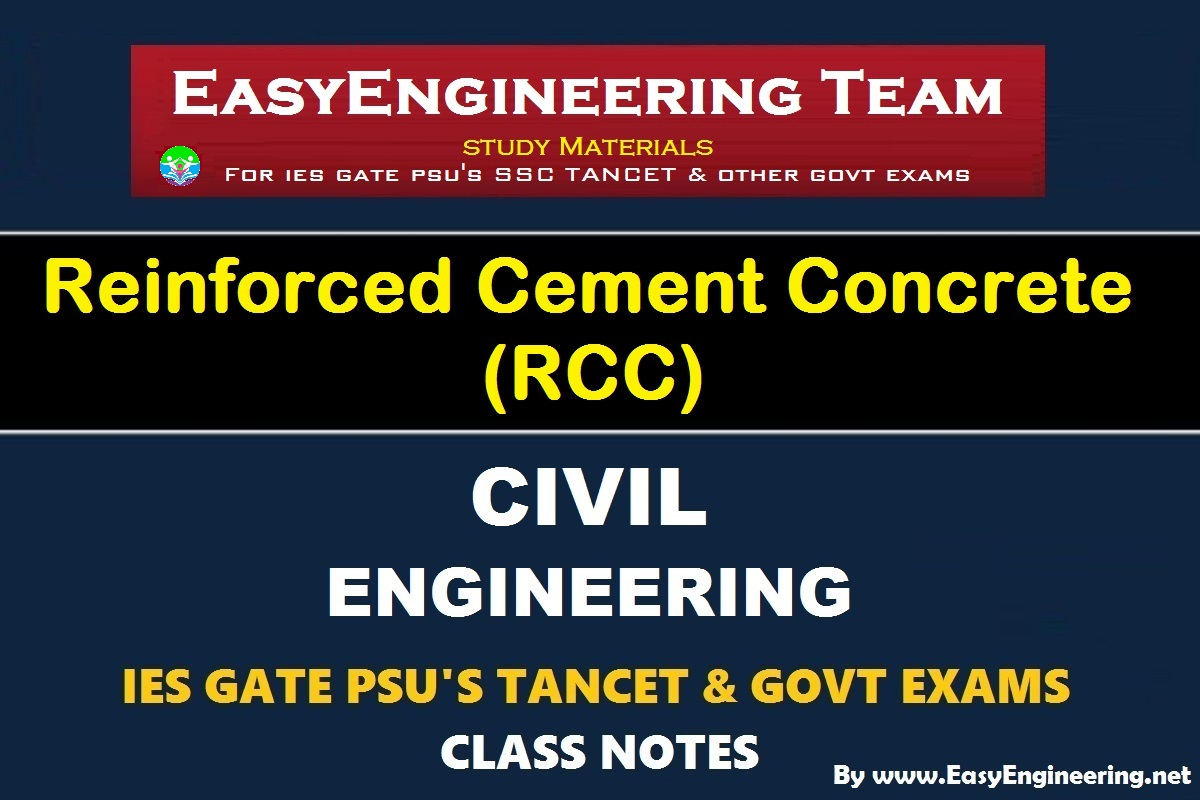 PDF] EasyEngineering Team Reinforced Cement Concrete (RCC