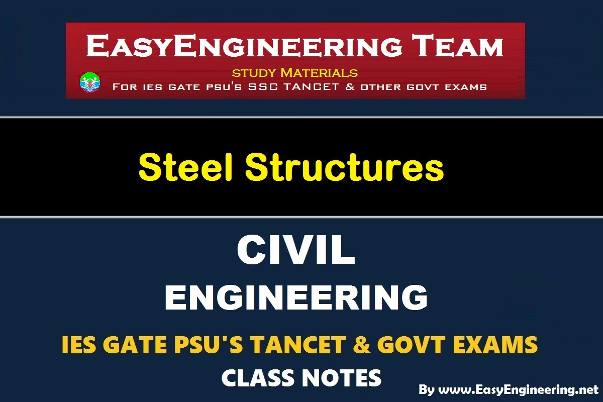 PDF] EasyEngineering Team Steel Structures Handwritten