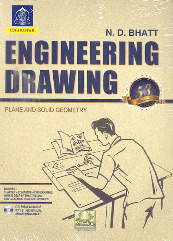 PDF] Engineering Drawing By N D  Bhatt Book Free Download