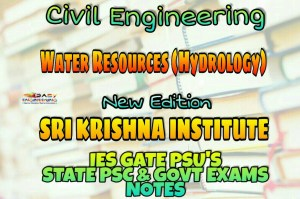 Sri Krishna Institute Water Resources (Hydrology) Handwritten Classroom Notes