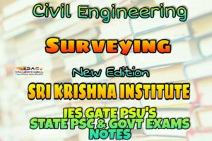Sri Krishna Institute Surveying Handwritten Classroom Notes