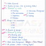 Sri Krishna Institute Environmental Engineering Handwritten Classroom Notes New Edition