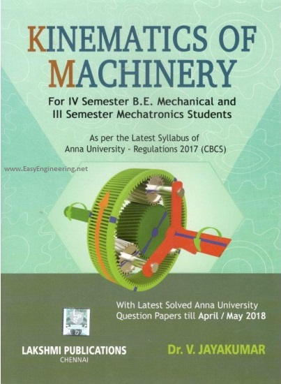 Pdf Me8492 Kinematics Of Machinery Kom Books Lecture Notes 2 Marks With Answers Important Part B 13 Marks Questions Question Bank Syllabus Easyengineering