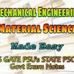 Made Easy Material Science Handwritten Classroom Notes
