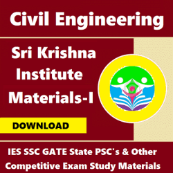 Sri Krishna Institute Study Materials (Edition - I)