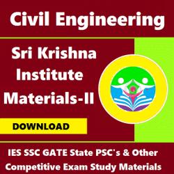 Sri Krishna Institute Study Materials (Edition - II)