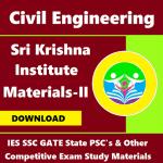 Sri Krishna Institute Study Materials (Edition – II)