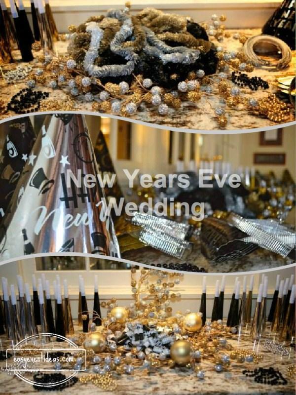 New Years Eve Wedding – Easy Event Ideas