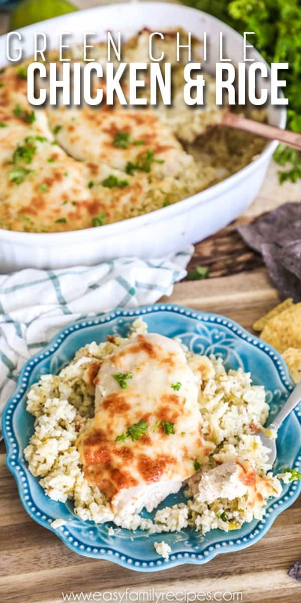 Chicken and Rice with Green Chiles