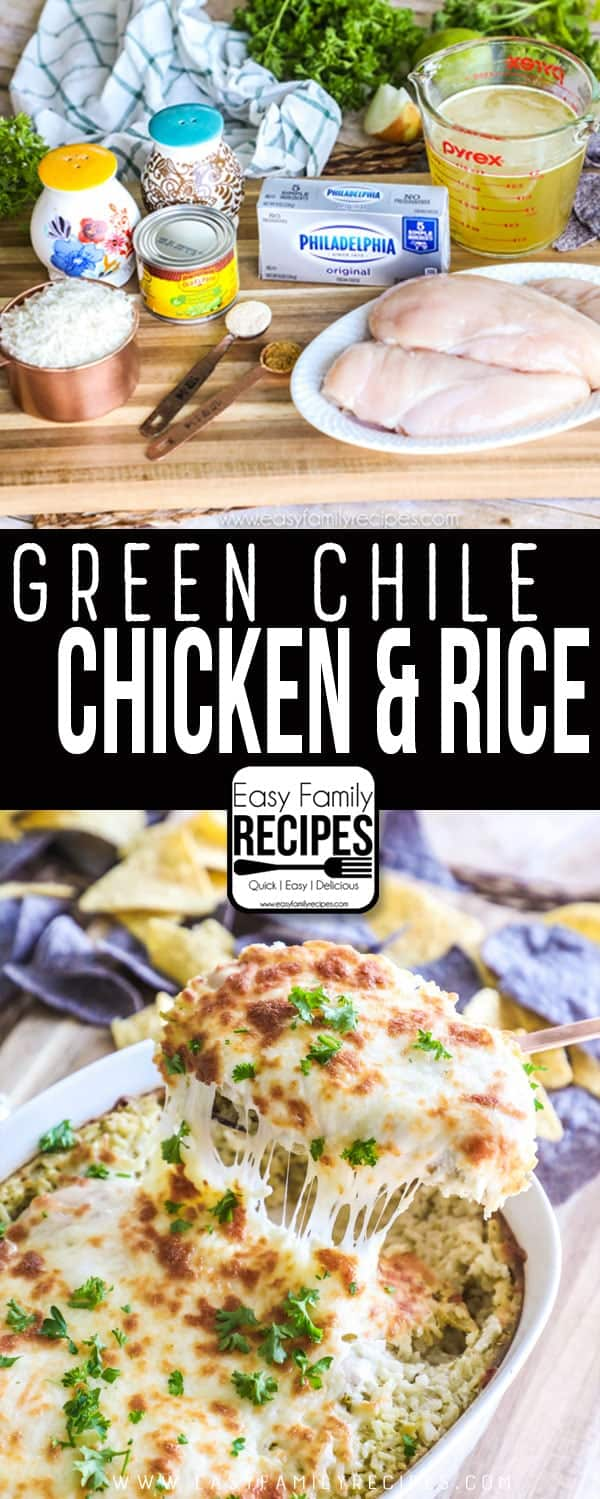 Green Chile Chicken and Rice Recipe