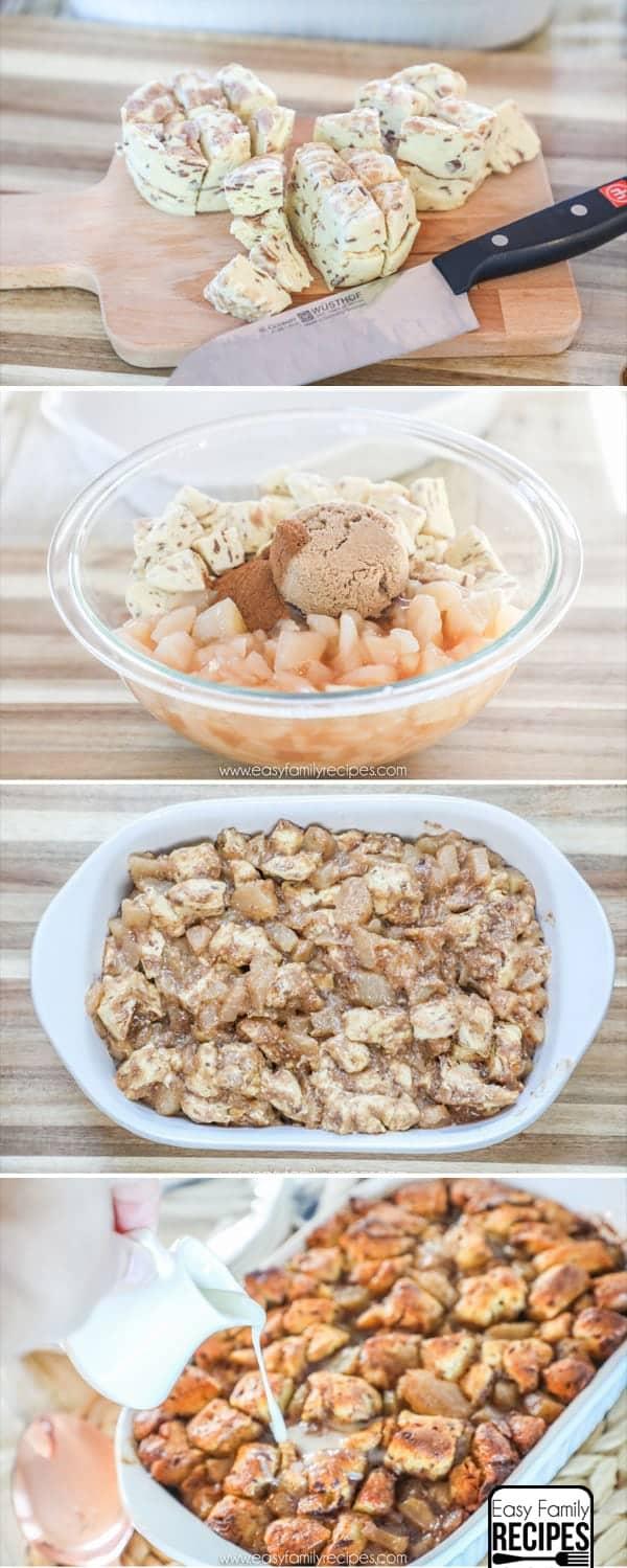How to Make Apple Cinnamon Breakfast Casserole