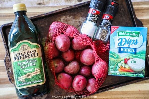 Smashed Potatoes Ingredients