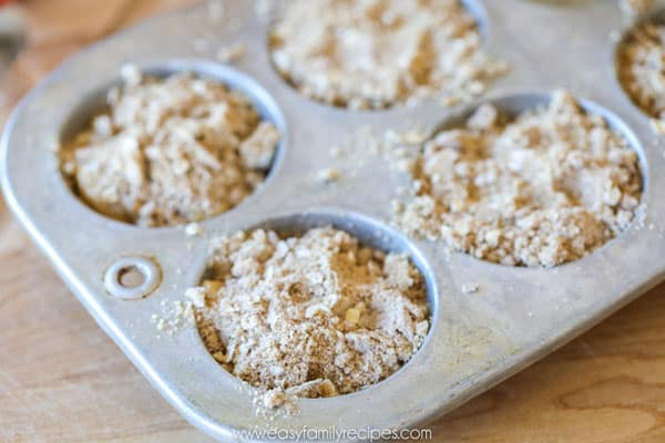 Apple Cinnamon Muffins Bakery Style