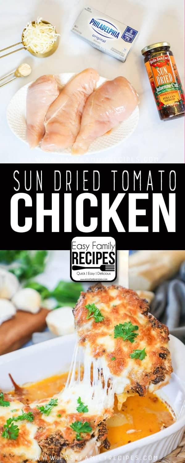 Creamy Sun Dried Tomato Chicken