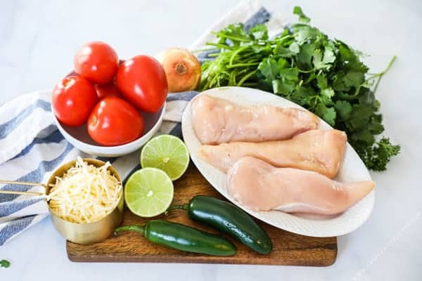 Salsa Fresca Chicken Ingredients