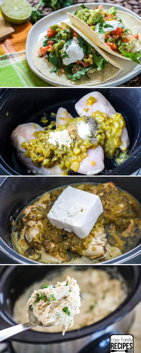 How to Make Chicken Tacos in Slow Cooker