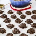 No Bake Cookies Step 4: Drop the mixture by spoonfuls and let set