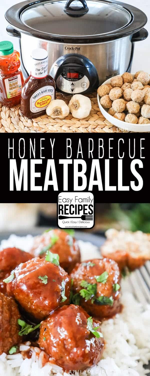 Try these delicious Honey BBQ Meatballs.
