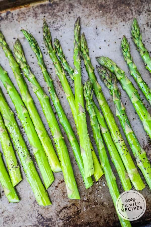 Baked asparagus is easy and delicious side dish for any meal.