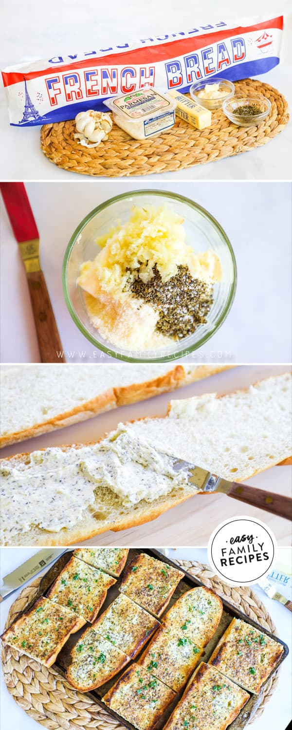 Steps to make Homemade Garlic Bread