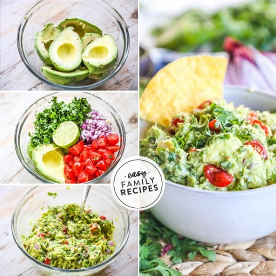 Step by step how to make guacamole